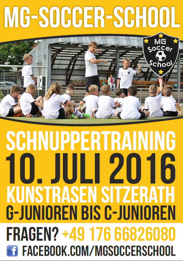 Trainingstag in Sitzerath