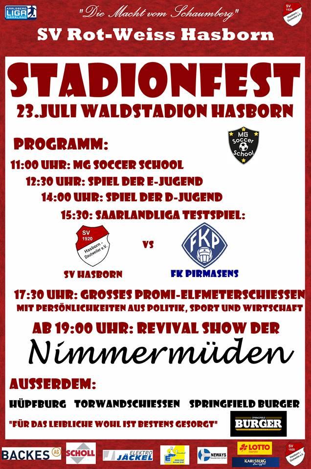 sv hasborn stadionfest